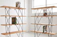 Spidery Screw-less Shelving