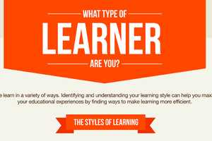 The 'What Type of Learner Are You' Infographic