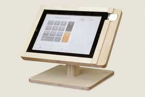 Square Register by Tinkering Monkey Joins Careful Carpentry with Sleek Tech