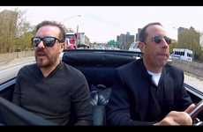 Casual Chatting Comic Series - 'Comedians in Cars Getting Coffee' is a New Show from Jerry Seinfeld
