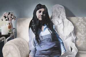 Captivating Crumpled Portraits by Vesna Burisch