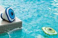 Floating Pool Speakers - The 'FRONTGATE' LED Devices are Perfect for Aquatic Activities