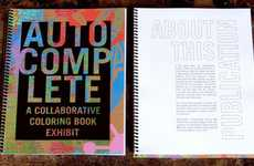 Colorless Take-Home Exhibits - Visionaries and Voices Presents Its Contemporary Art Coloring Book