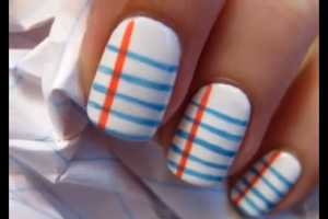 The Cute Polish 'Back to School' Manicure is Adorable