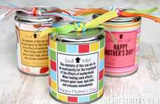 DIY Tin Can Treats - The 'OUR BEST BITES' Blog Shows How to Make Customized Gifts