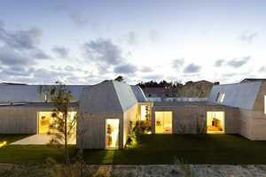 The House in Ovar by Paula Santos Presents Various Elevations