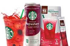Fruit-Flavored Coffee Drinks