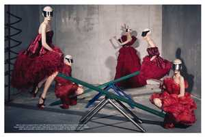 The Vogue Italia July 2012 'Collections' Editorial Is Playful