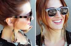 DIY Magnetic Sunglasses - The Brit & Co. Blog Shows How to Make Fashionable Eyewear