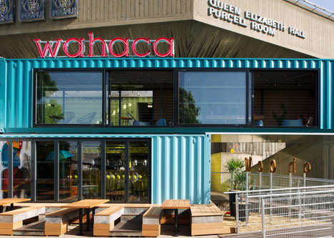 Interim Industrial Eateries - The Softroom 'Wahaca Southbank Experiment' is Time Sensitive