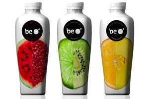 Be O' Juice Packaging Presents a Pure Image of its Organic Ingredients