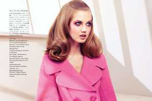 The August 2012 Vogue Japan Wixson Editorial is Girlish