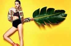 Tropical Technicolor Photoshoots - The El Pais Sergi Pons Editorial Pops With Color