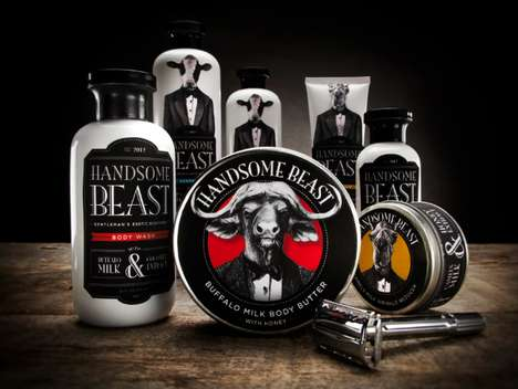 Handsome Beast Packaging