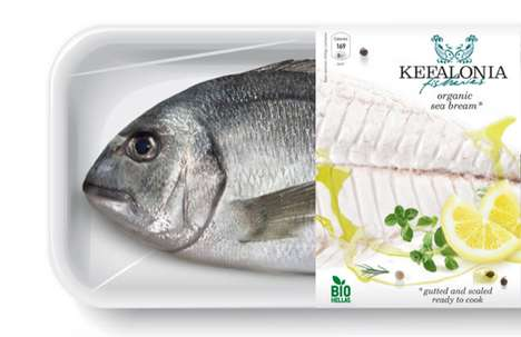Kefalonia Fish packaging