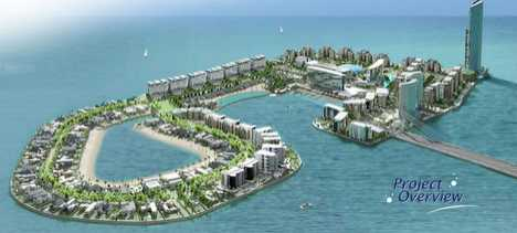 Man Made Luxury Islands - Reef Island in Bahrain