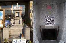 Hi-Tech Graves - QR Codes Give Info On Deceased