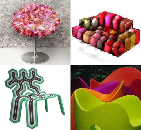 Vibrant Surprises in Design