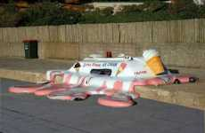 Top 18 Street Art Installations + Melting Ice Cream Truck