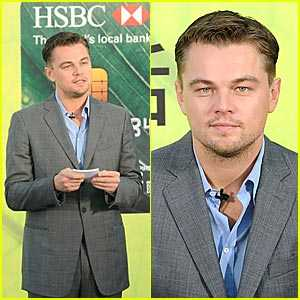 Green Credit Cards - Leonardo DiCaprio & HSBC