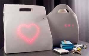 Emotion-Sensitive Bags - LadyBag Helps the Forgetful