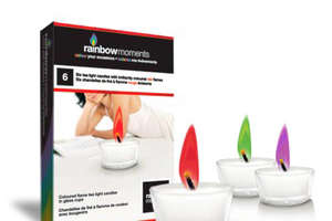 Rainbow Moments Tea Lights