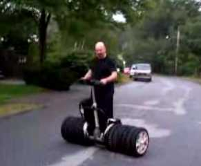 Pimped Scooters - Monster Segways Sports Giant Tires