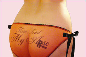 'Fair Trial My Arse' Panties