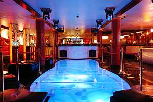 Dance Floor Aquariums
