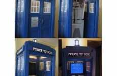 Retro Arcade Booths - Dr. Who Time Machine