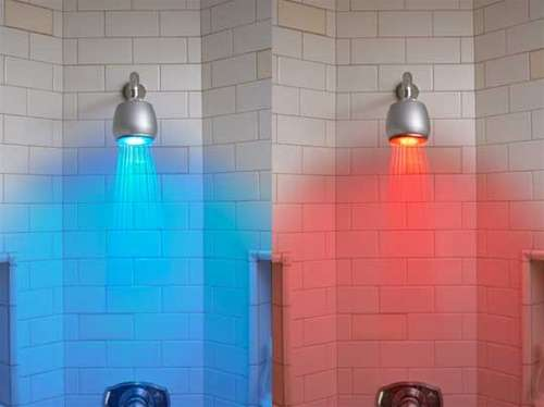 Coloured Showers