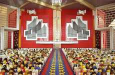 Lego Replicas - Abston Church of Christ by Amy Hughes