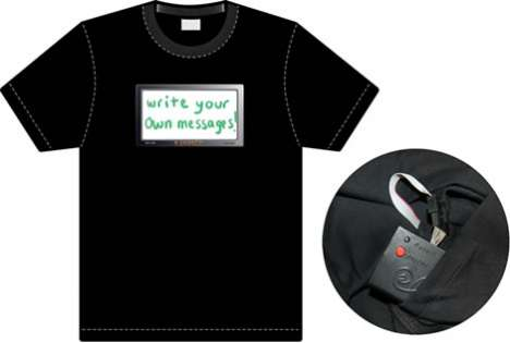 Illuminated Message Shirts