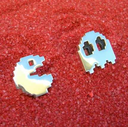 Geek Chic Accessories - Pac Man Cufflinks