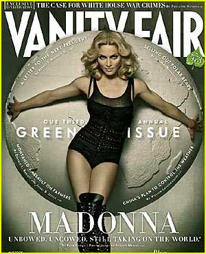 Celebs For Environment - Vanity Fair's Green Issue with Madonna