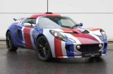 Patriotic Auto Wraps - Union Jack Lotus Exige S