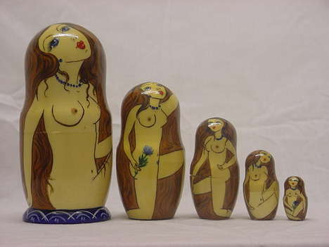 Naughty Matryoshkas