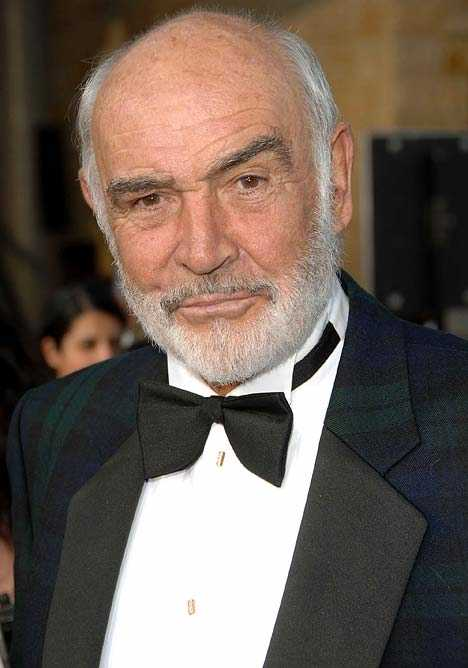 Sean Connery as James Bond Villain