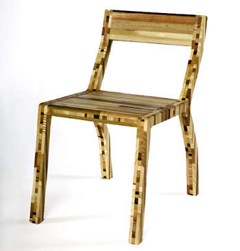 Recycled Scrap Wood Furniture
