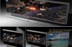 Futuristic LCD TV