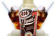 Schweppes Root Beer Float