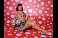 Fashionable Collaboration Clips - The Louis Vuitton x Yayoi Kasuma Video is Vintage Chic