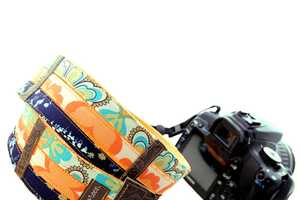 The Patterned Camera Straps are a Chic Way to Accessorize