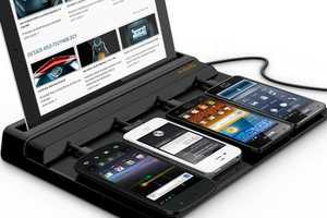 The All In One Power Station for Tablets/Cell/iPhone/iPad Covers Bases