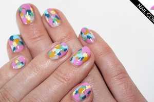 The Fashion Magazine 'Valentino' Nails are Summery