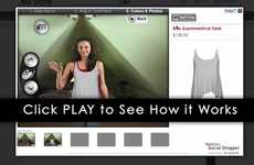 Virtual Fashion Sampling - Webcam Social Shopper by PrestShop Creates an AR Fitting Room