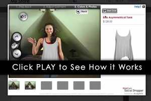 Webcam Social Shopper by PrestShop Creates an AR Fitting Room