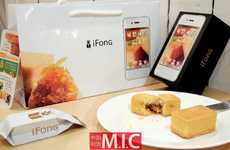 Mock iPhone Treats - The Comte 'Ifong' Mimics Apple Smartphone Packaging and Design