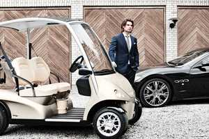 The Garia Luxury Golf Car is a Masterpiece on and off the Greens