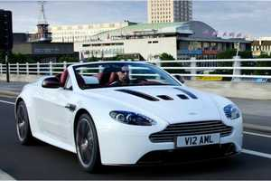 The 2013 Aston Martin V12 Vantage Roadster is Powerful